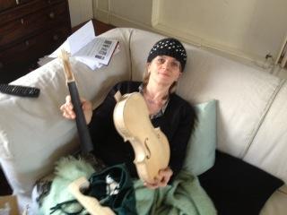 Vanora's violin