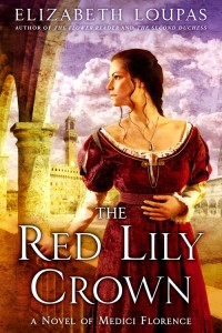 THE RED LILY CROWN cover