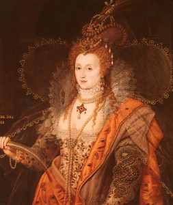 The Rainbow portrait of Queen Elizabeth I