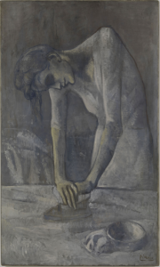 Woman Ironing Picasso