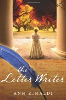 The Letter Writer by Ann Rinaldi