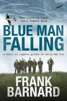 Blue Man Falling by Frank Barnard