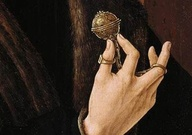 Tudor pomander bead
