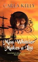 Miss Whittier Makes a List by Carla Kelly