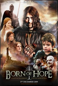 Click through to watch Kate Madison's Lord of the Rings fan movie, Born of Hope.