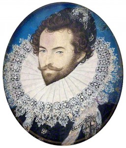 Portrait of Sir Walter Raleigh by Nicholas Hilliard