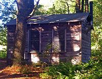 Millay's writing cabin