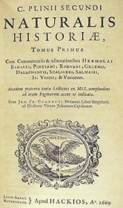 Pliny the Elder's Natural History