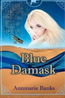 Blue Damask by Annmarie Banks