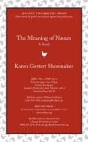 The Meaning of Names by Karen Gettert Shoemaker