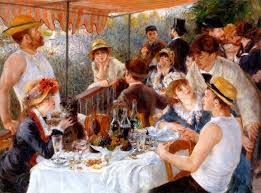 Renoir's Luncheon of the Boating Party
