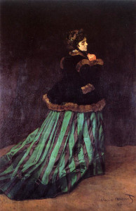 Monet: Camille or Woman in a Green Dress