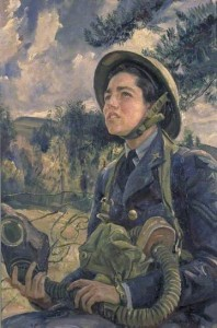 Laura Knight, Corporal JDM Pearson, 1940. Oil on canvas. Imperial War Museum, London
