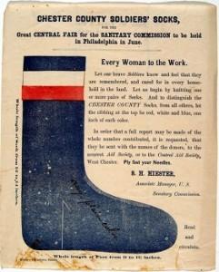 Civil War Sock Pattern