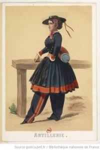 French Vivandiere