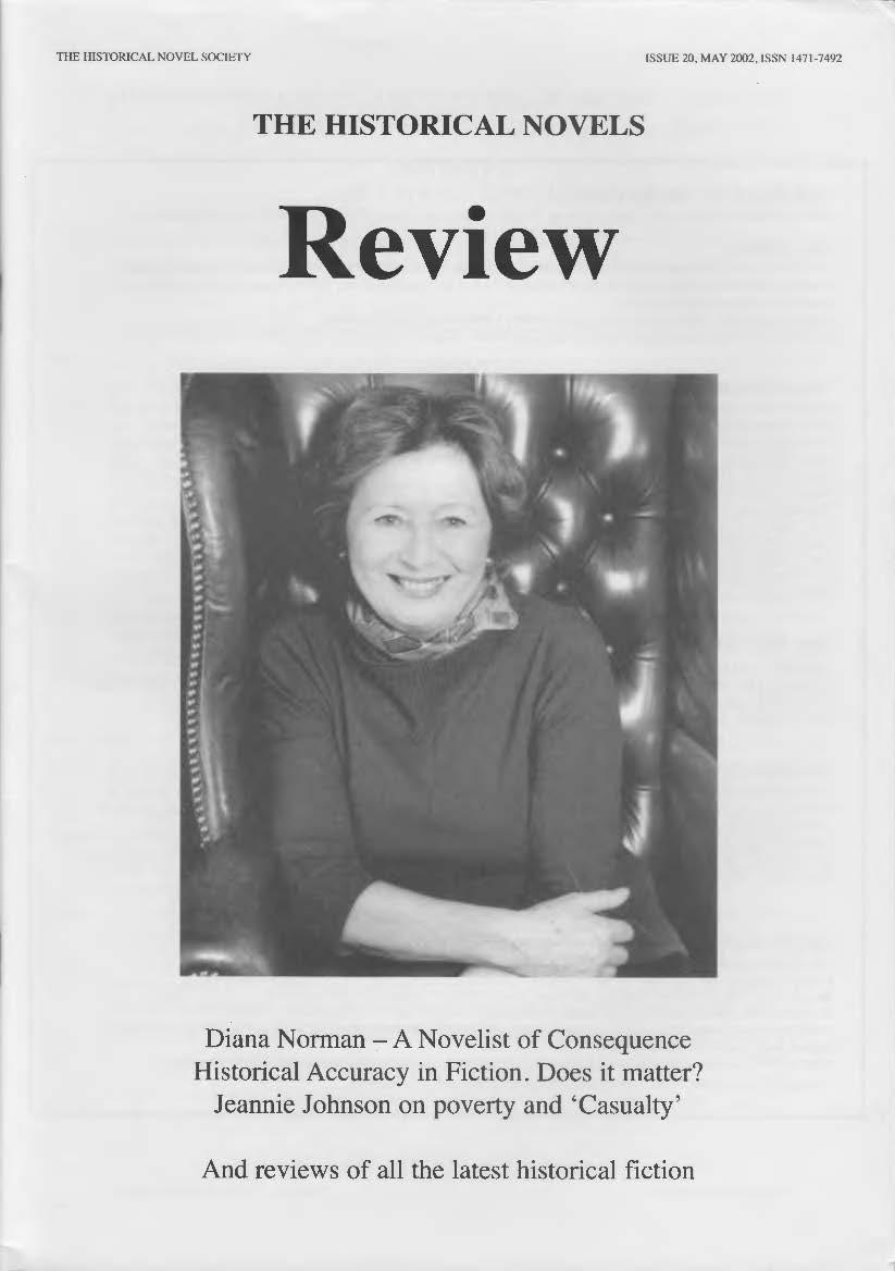 HNR Issue 20 (May 2002) - Historical Novel Society